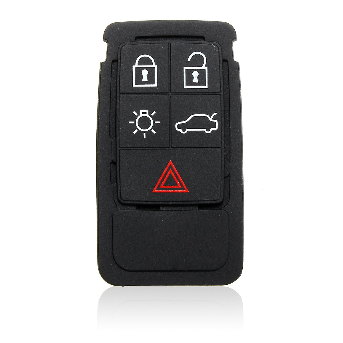 Floor mats volvo xc70 - 5 Buttons Remote Key Rubber Pad Replacement Fob Fit For Volvo S60 S80 Xc70 Xc90 Black