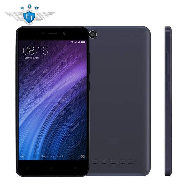 Глобальная версия Оригинальный Xiaomi Redmi 4A 4 2 ГБ 32 ГБ Snapdragon 425 Quad Core смартфон 5.0 дюймов 13.0MP 3120 мАч оты MIUI 8.5