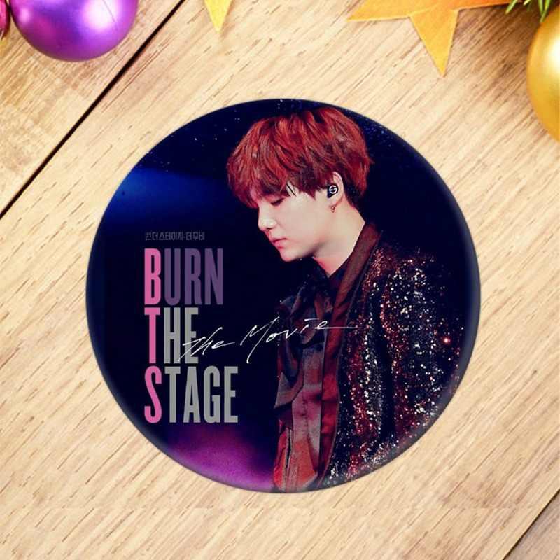 1Pcs Fashion KPOP BTS / Bangtan Boys JIMIN Badge Brooch / Chest Pin  Souvenir Gift 2018
