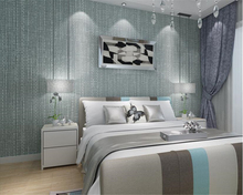 beibehang Classic 3d simple non-woven wallpaper three-dimensional solid color bedroom living room papel de parede