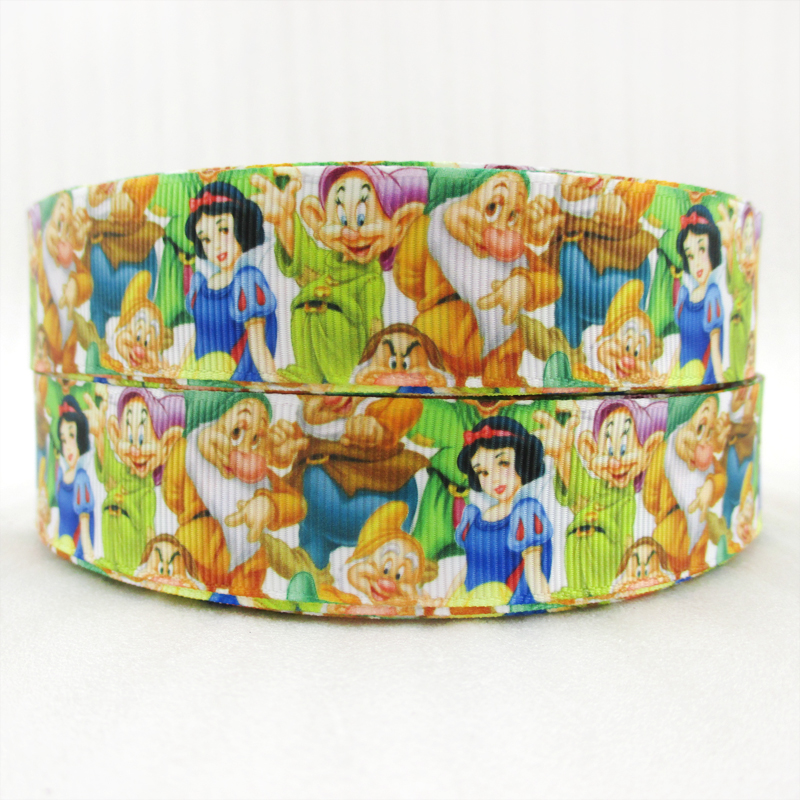 10Y45109 1(25mm) beautiful girl high quality printed polyester ribbon 10 yards, DIY handmade materials, wedding gift wrap