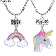 333a08b86889 Compra best friend necklace unicorn y disfruta del envío gratuito en ...