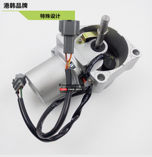 Hitachi excavator  EX200-5 EX200-6 ZX200 Throttle Motor Governor Motor Fuel Motor 4360509 4614911 Warranty 6 MONTHS for komatsu pc100 5 center joint repair seal kit excavator gasket 3 months warranty