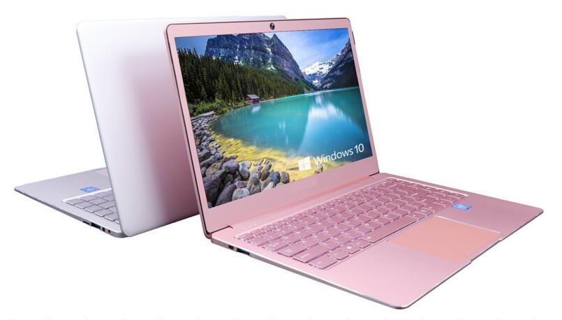 Backlit keyboard laptop 14inch lady pink laptop Aluminum alloy case N3450 1920*108P 6GB Ram 64GB Rom Windows 10 OS FACEBOOK HOT