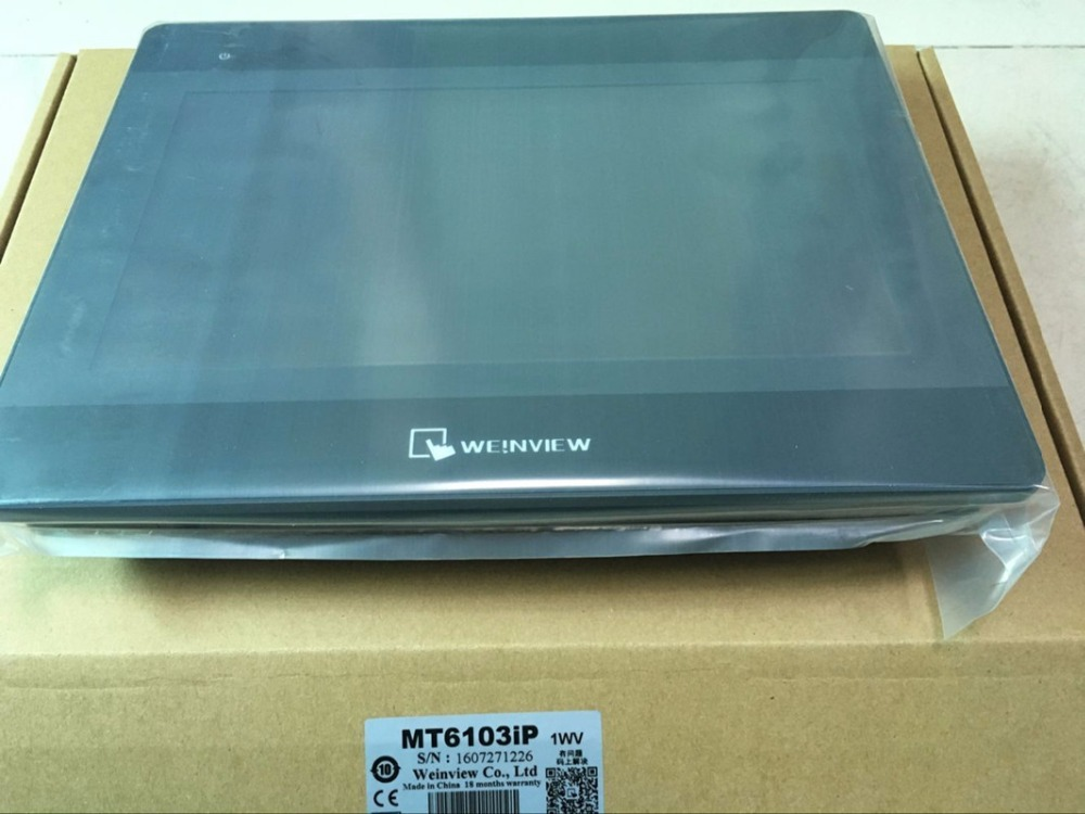 MT6103iP Weinview HMI Touch Screen 10.1 inch 1024x600 replace TK6100i TK6102i new mt6103ip weinview hmi touch screen 10 1 inch 1024x600 replace tk6100i tk6102i new