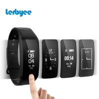 Lerbyee Fitness Tracker R1 Call Reminder Smart Bracelet Real Time Heart Rate Monitor Waterproof Activity Tracker