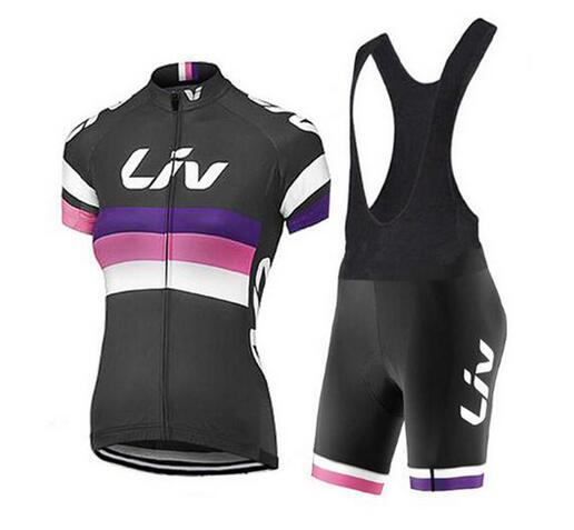2018 Liv Cycling jerseys Set pro team Clothing Bike Women Bicycle clothes  short sleeves Ropa Ciclismo a2db45afb