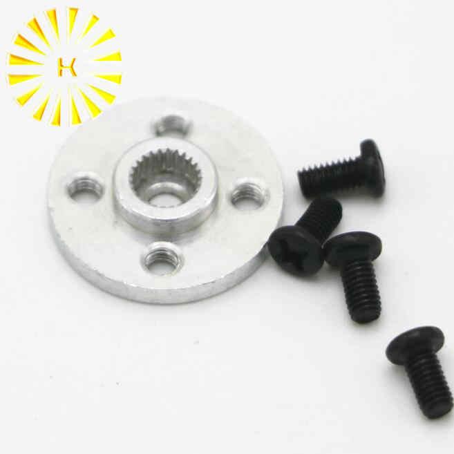 Disco de engranaje de dirección de Metal Stent 25 T Servo brazo tipo redondo para MG995 MG996R RC Robot coche conector
