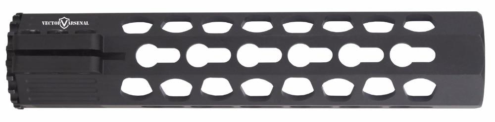 Tactische Ultra Slim KeyMod 7 10 12 15 17 inch Gratis Float Picatinny - Jacht - Foto 6