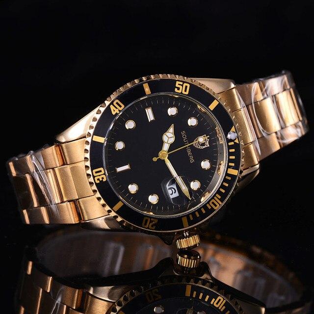 f777682291 Homens relógio Data papel Moda Quartzo Homens Relógios Marca de Topo relógio  de Pulso Masculino Relogio