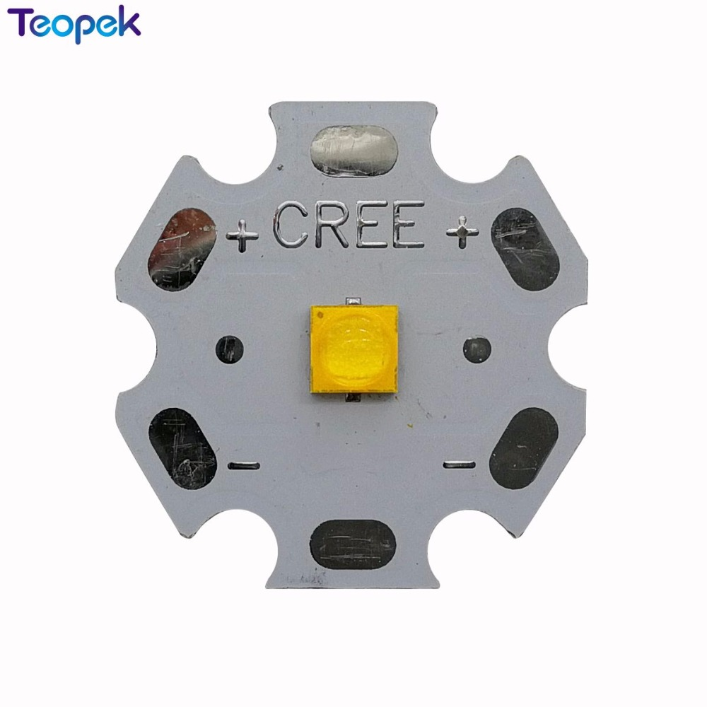 10pcs Cree XP-G3 XPG3 S3 Cool W Warm White 6W High Power LED Emitter Diode 777lm With 20mm 16mm 14mm 12mm 8mm PCB стоимость