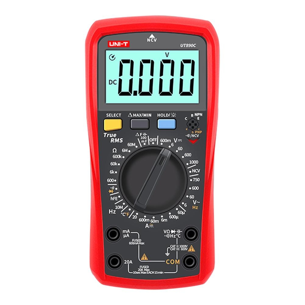 Digital Multimeter Counts Volt Meter Manual Auto Ranging Measures AC/DC Volt Voltage Tester Current Resistance 3999 Maximum  Digital Multimeter Counts Volt Meter Manual Auto Ranging Measures AC/DC Volt Voltage Tester Current Resistance 3999 Maximum