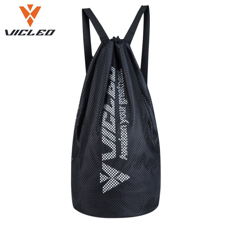 Sports Bags Sports & Entertainment 2018 Vicleo Brand Basketball Bags Football Bags Double Shoulders Sports Basketball Bags 16z20001 Black Net Bags For Men/women To Help Digest Greasy Food
