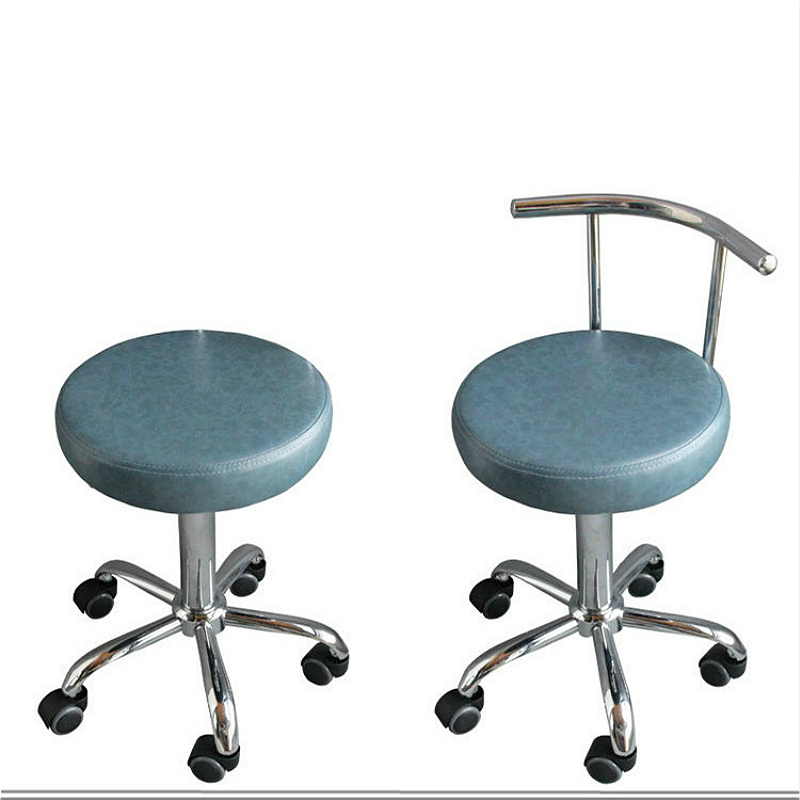 Hairdressing Swivel Chair Lifted Rotation Makeup/Tattoo/Manicure Chair With Backrest Slidable Washable Soft Cosmetology Stool