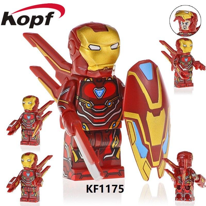 KF1175 Single Sale Super Heroes Iron Man Searies Figures M39 M85 M50 Model Spider-Ham Bricks Building Blocks Kids Gift Toys