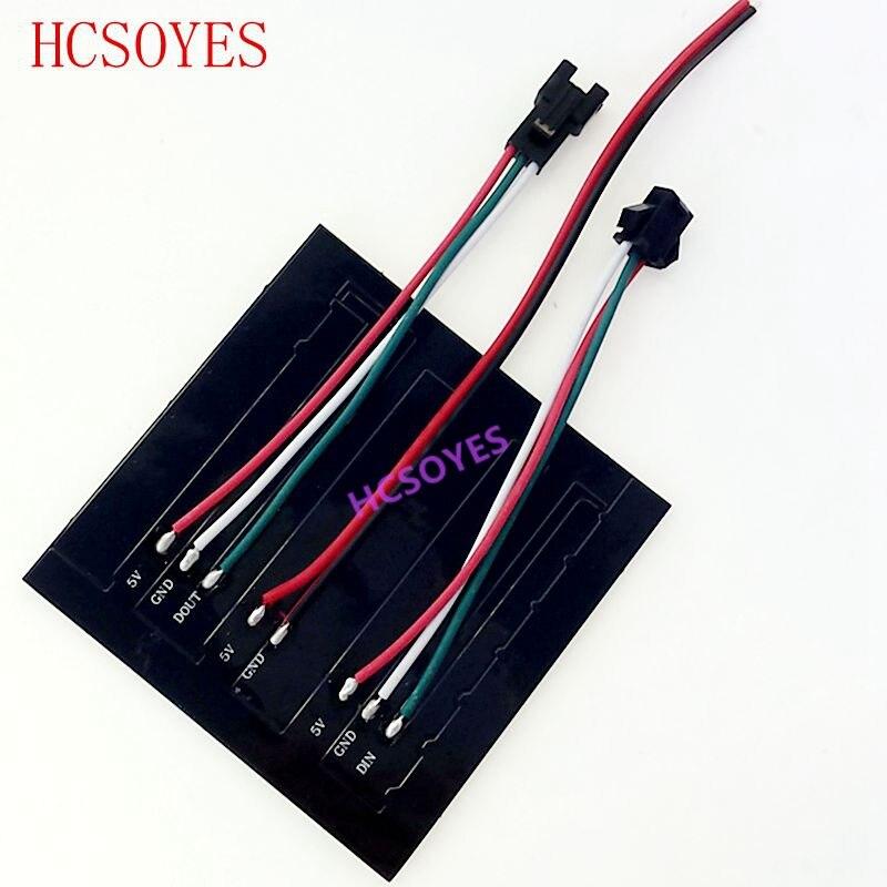 flexível led painel individualmente endereçável sonho completo cor dc5v