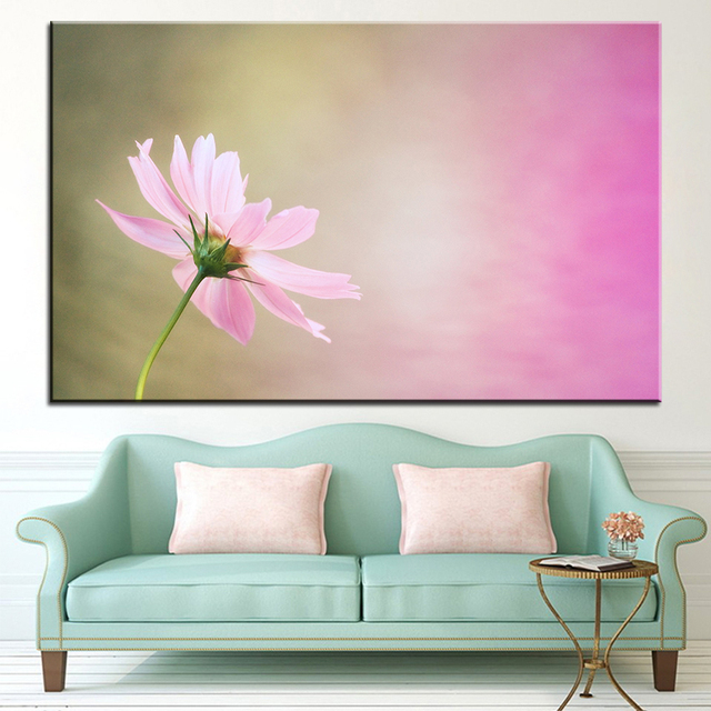 Large size Printing Oil Painting cosmos Wall painting Decor Wall Art ...