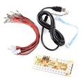 Demora cero Arcade Encoder USB Joystick para MAME Multicade Encoder Keyboard PC Juegos de Lucha, USB a Jamma AC425 +