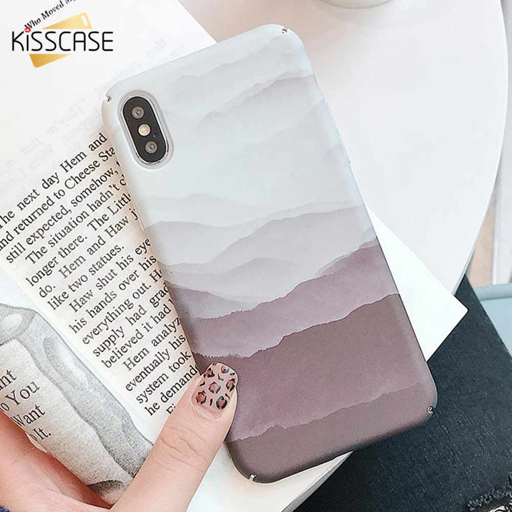 KISSCASE Landscape Pinewood Pattern Hard Case For Huawei Mate 20 Lite 20 Pro 20 Full Fitted Case For Huawei P20 Lite P20 Pro P20