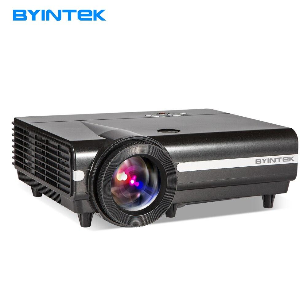 Proyector Luna BT96Plus byintek cine en casa, a prueba de polvo, soporte Full HD 1080 p (opcional Android6.0 Versión 4 K video)