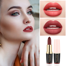MISS ROSE Matte Lipstick Makeup Long Lasting Nude Velvet Waterproof Moisturizing Cosmetic Beauty Tools maquillaje