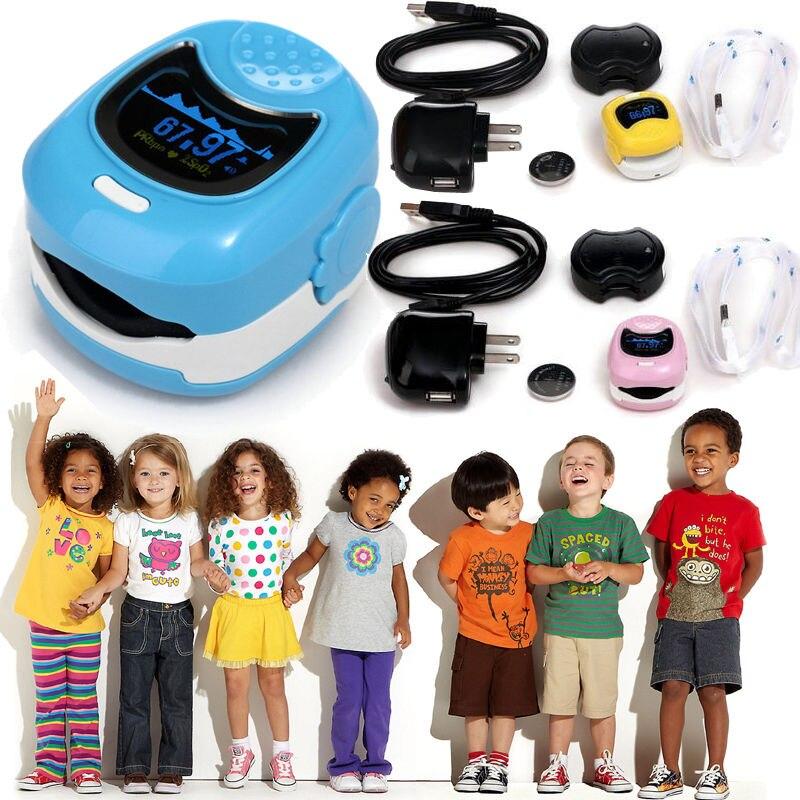 CONTEC CMS50QB 3 Colors OLED Kids Child Baby Heart Rate Children Fingertip Pulse Oxygen Blood SPO2 Oximeter Monitor oled pulse finger fingertip oximeter blood spo2 pr heart rate monitor