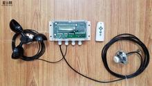 Iki eksenli güneş otomatik takip cihazı takip sistemi otomatik izleme kontrol çipi rüzgar hızı sıcaklık sensörü