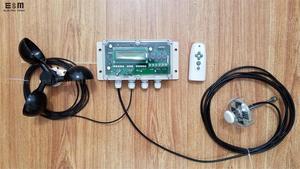 Image 1 - Iki eksenli güneş otomatik takip cihazı takip sistemi otomatik izleme kontrol çipi rüzgar hızı sıcaklık sensörü