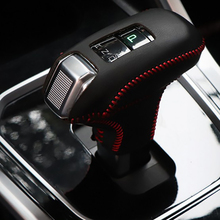 цена Free Shipping High Quality Cowhide Top Layer Leather automatic Gear Shift Collars Gear Cover For Great Wall Haval 6 Hover 6 онлайн в 2017 году