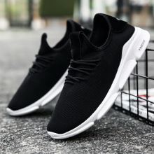 2019 hot new mens shoes trend fashion casual sports comfortable Korean version of breathable running sneakers