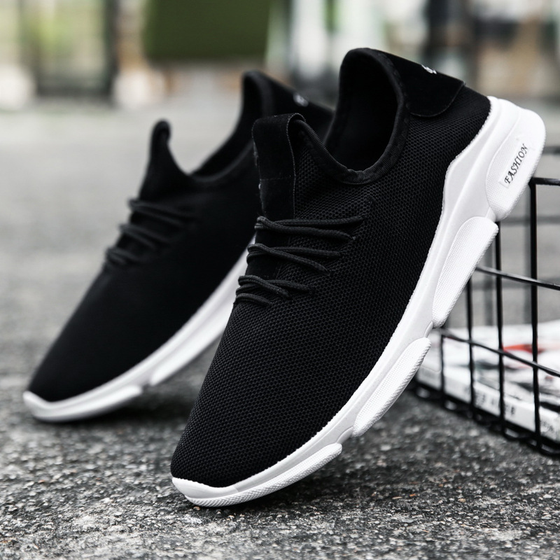 2020 hot new men's shoes trend fashion men's casual sports shoes comfortable Korean version of breathable running shoes sneakers