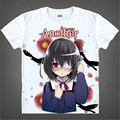 Another Mei Misaki cosplay substitute Japanese Famous anime T Shirt Novelty Summer Men's T-shirt Cosplay Costume Clothing