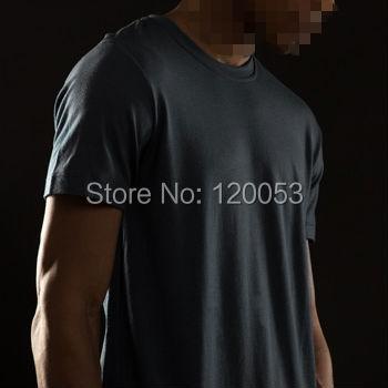 سعر نقطة الثقيلة جودة 200GSM 100% أستراليا ميرينو الصوف رجل قصير كم T قميص ، ميرينو الصوف T قميص ، الأوروبي صالح