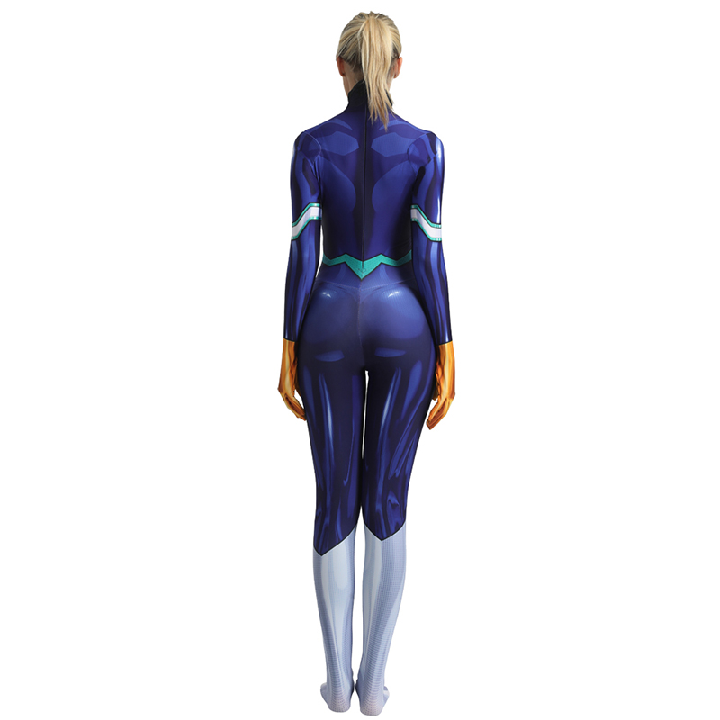 Image 3 - Anime My Hero Academia Nejire Hado Cosplay Costume Zentai Bodysuit Adults One Piece Suit Boku no Hero Academia Lycra Jumpsuits-in Anime Costumes from Novelty & Special Use