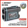 New Brand SNDWAY 1500m Digital Laser Distance Meter Telescope Golf Hunting Rangefinder Range Finder Monocular 8X