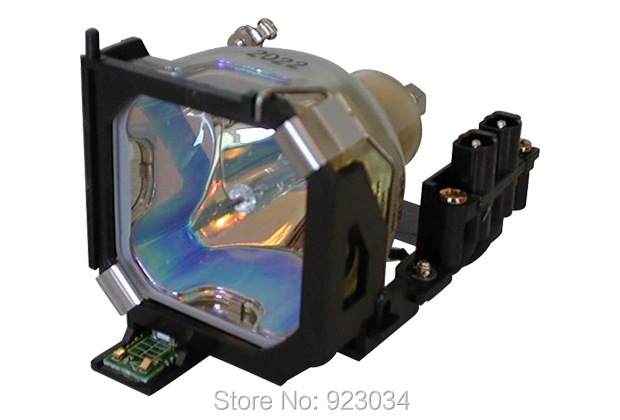 ELPLP14 lamp with housing for EMP-503C EMP-505 EMP-703 EMP-703C EMP-713 EMP-715 EMP-715C EMP-815 Powerlite 503C цена