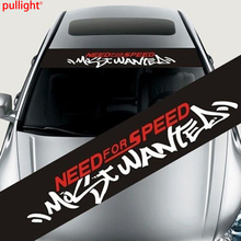 Need For Speed Reflective Front Rear Windshield Banner Decal Car Stickers