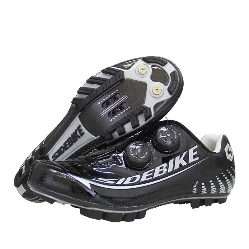 SIDEBIKE hiver SD-010 chaussures de cyclisme hommes chaussures vtt Auto-verrouillage bande élastique respirant sports de plein air chaussures de vélo de route scarpe vtt