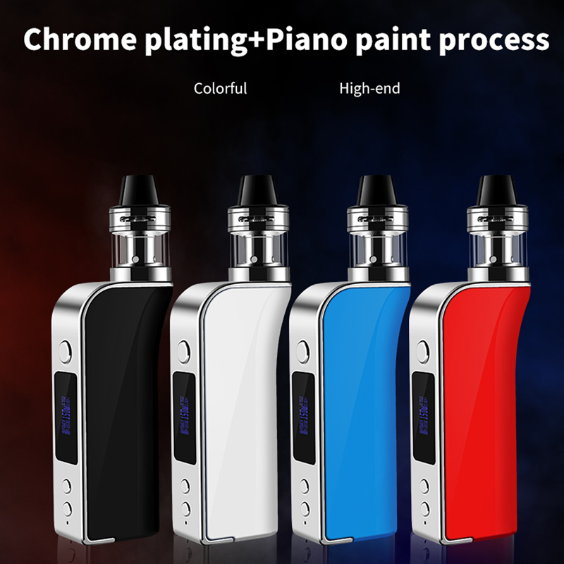 ECT <font><b>150W</b></font> <font><b>box</b></font> <font><b>mod</b></font> <font><b>e</b></font> <font><b>cigarette</b></font> kits water-proof 2ml big vapor pen temperature control battery electronic <font><b>cigarette</b></font> drop shipping image