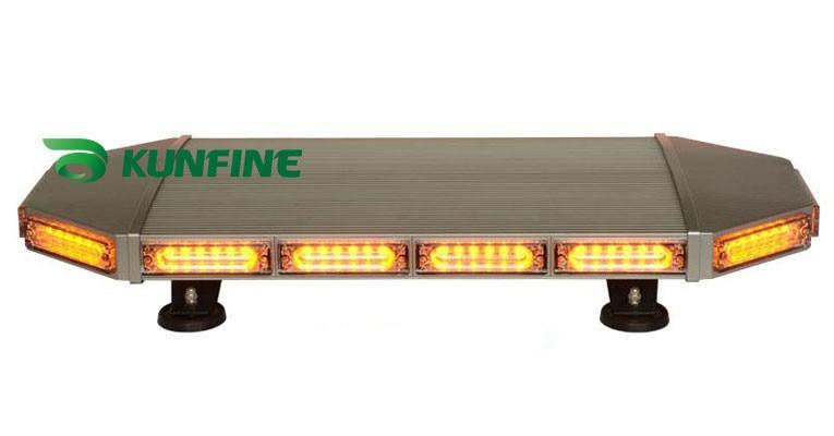 NEW LED 73CM High Power flash traffic warning lightbar LED Emergency Warning Lightbar Police Lightbar KF8711W