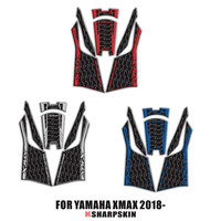 3D Fairing Gas Cap Tank Pad protection Sticker Decal for YAMAHA XMAX 250 300 2018 2019