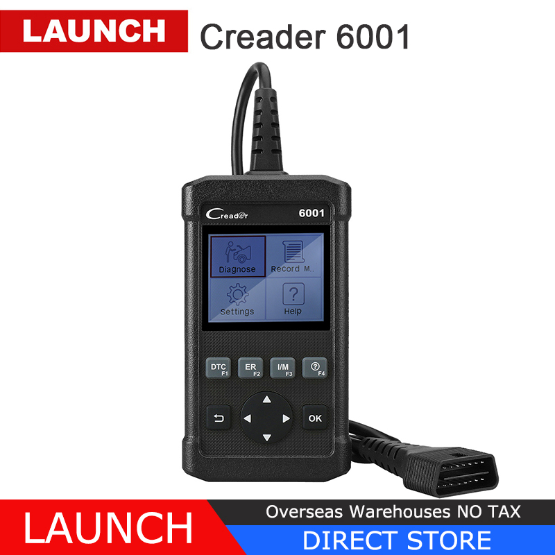 [Pre-Sale]Launch Creader 6001 OBD2 Scanner Auto Fault Code Reader OBD 2 Car Diagnostic Scan Tool Autoscanner Scaner Tools CR6001 цены