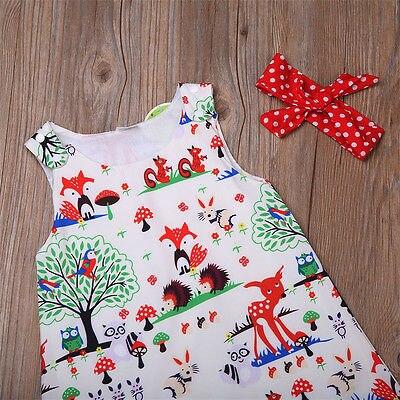 3PCS-Infant-Toddler-Kids-Baby-Girl-Clothes-Top-DressShort-PantsHeadband-Outfits-Set-4