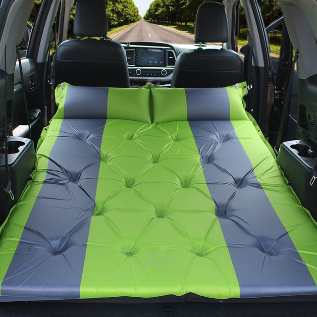 Auto Inflatable Bed Outdoor Car Sex Shock Mattress Suv Trunk Special Camping Travel Bed Car Rear
