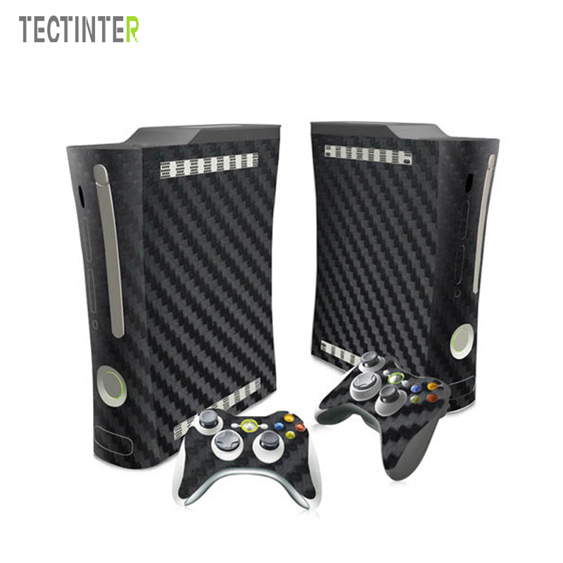Gears of War Vinyl Skin Sticker Protector for Microsoft Xbox 360 fat Console with 2 Controllers Cover for xbox360 Fat Gampad