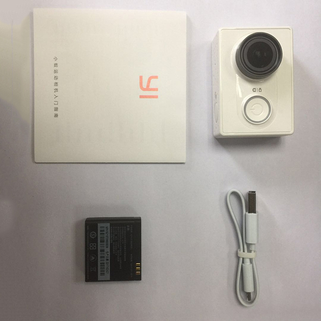 xiaomi yi action camera yi 1080p sport cam camera outdoor Kamera microsd tf memory card support app wifi remote control cameras 3