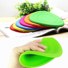 1PC Home Garden Pet Dog Cat Play Treat Training Funny Flying Saucer Frisbee Disc Ourdoor Large