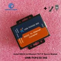 2PC USR TCP232 302 single port serial port server RS232 to Ethernet port TCP/IP network communication TCP IP Server Module