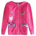 2016 новый детская одежда девочка милый мультфильм хлопок причинно пальто baby clothing розничные дети куртка nova дети детская одежда