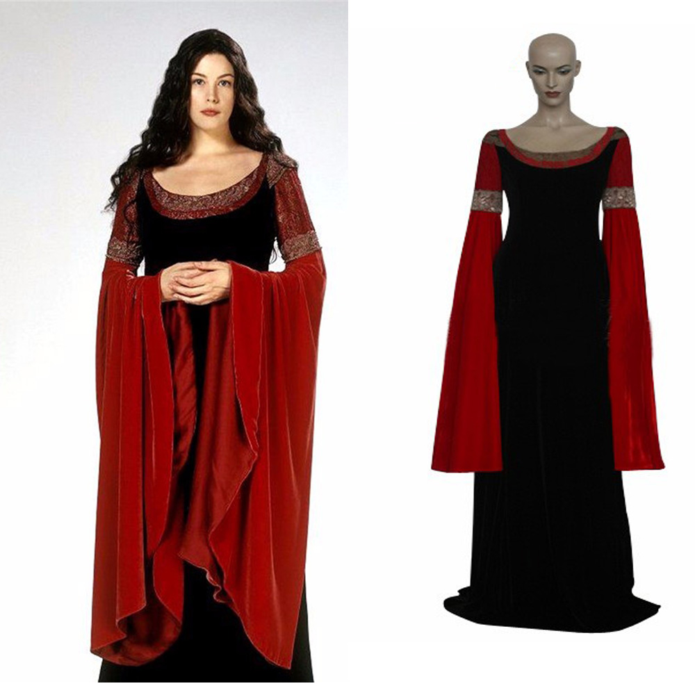 Hero Catcher Lord Of Rings Princess Arwen Cosplay Costume Halloween